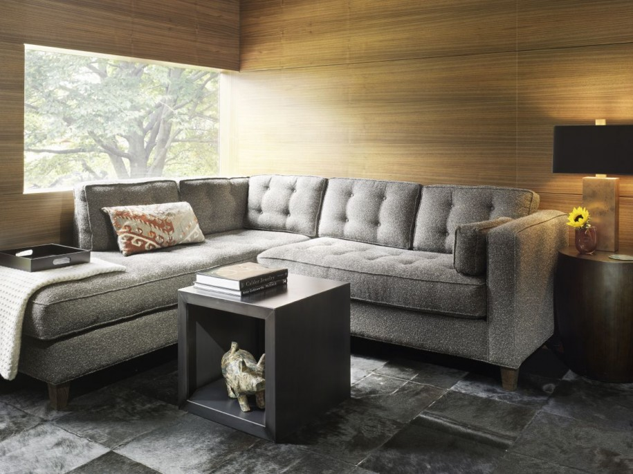 exciting living room sofas loveseats | You think hardwood flooring is for floors? Well, think ...